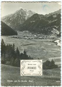 Gruss aus PFUNDS, Tirol, Austria, used RP Postcard