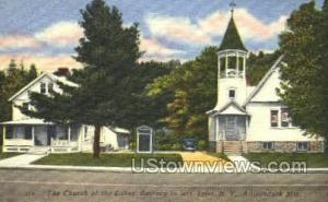 Church of the Lakes Inlet NY Unused