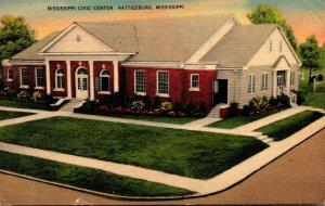 Mississippi Hattiesburg Mississippi Civic Center 1941
