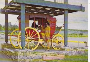 Canada British Columbia 100 Mile House Barnard's Express Stage Coach
