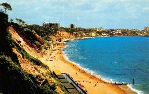 Dorset Postcard, BOURNEMOUTH from Canford Cliffs, Sun, Sea, Sand, Beach AW9