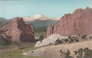 Colorado Colorado Spring pikes Peak Through The Gateway Garden Of The Gods Al...