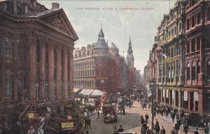 LONDON, England, United Kingdom; The Mansion House & Cheapside, Nestles & Mil...
