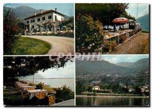 Postcard Modern Hotel Lido Minusio Navegna Locerno