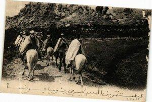 CPA AK Algérie-Spahis Algériens en inanoeuvre dans le sud de la France (237770)