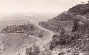 RP: Switchbacks on Broadmor-Cheyenne Highway , Colorado , 30-40s ; SABORN S-1046
