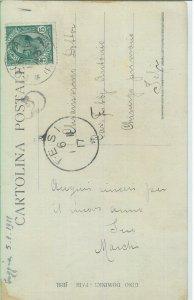 CARTOLINA d'Epoca - FOGGIA citta': FOTOGRAFICA : MALATI di COLERA Cholera 1911
