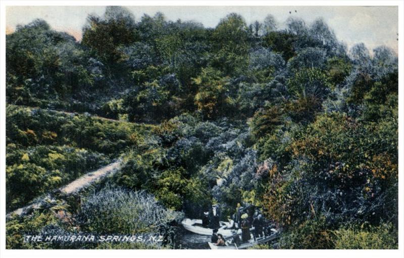 New Zealand    The Hamurana Springs