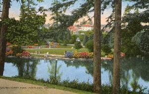 OR - Portland. Laurelhurst Park