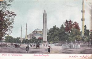 CONSTANTINOPLE, Turkey, 1900-1910´s; Place De L'Hippodrome
