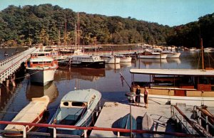 New York Staatsburg Norrie Point State Park Yacht Basin
