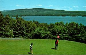 Maione Greenville Moosehead Lake From Squaw Mountain Inn 1971