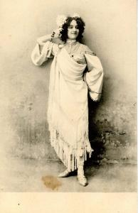 Woman -  Dressed in costume