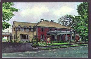 Daniel Webster Inn Sandwich Village MA Post Card PC2174