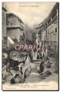 Postcard Old Mill Gorges Sierroz Mills Gresy