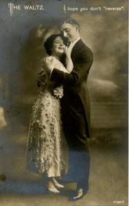 The Waltz - I hope you don't reverse…    (Romance)      *RPPC
