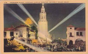 Premiere Night, Carthay Circle Theater, Beverly Hills, California, PU-1947
