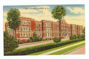 Mercy Hospital, Charlotte North Carolina 1930-40s
