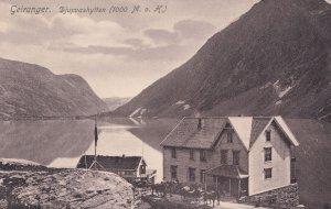 Geiranger Djupvashytten Norway Mint Postcard