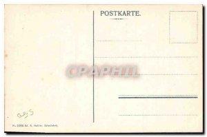 Postcard Old Beatyshuhlen am Thunersee Justuswand