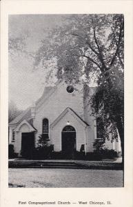 First Congregational Church, WEST CHICAGO, Illinois, 1910-1920s
