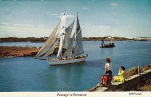Yankee sails on a passage to romance,Bermuda,40-60s