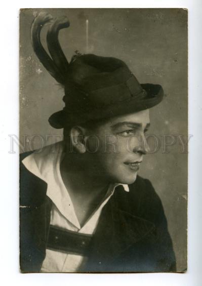 170107 LEGKOV Russia OPERA Singer Role AUTOGRAPH vintage PHOTO