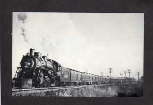 Frisco The Sunnyland Railroad Train Postcard St. Louis MO CA San Francisco Rail