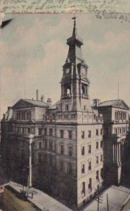 Kentucky Louisville Post Office 1912