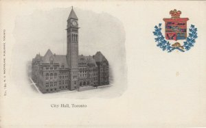 TORONTO , Ontario , Canada , 1900-10s ; City Hall