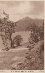 Scotland Postcard - Loch Lomond and Ben Lomond   RS23640
