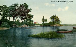 CT - Milford.  Milford Point Beach