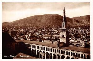 Syria Damas - Panorama, Damascus real photo