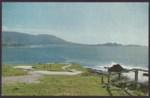 7th Hole,Pebble Beach,CA Postcard BIN