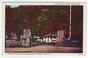 P548 JLs old watkins glen state park entrance, walkins glen new york