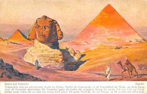 Egypt, Egypte, Africa Sphinx und Pyramiden  Sphinx und Pyramiden