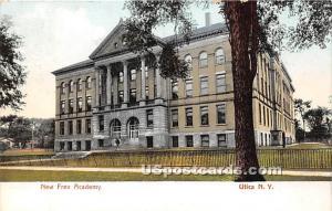 New Free Academy Utica NY 1907