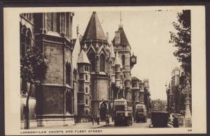 Law Courts,Fleet Street,London,England,UK Postcard