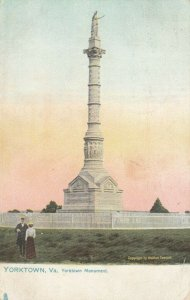 YORKTOWN , Virginia , 1909 ; Yorktown Monument ; TUCK 2336