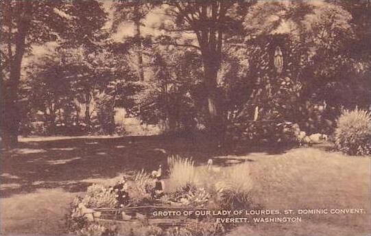Washington Seattle Everett Grotto Of Our Lady Of Lourdes Saint Dominic Conven...