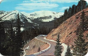 Postcard Trail Ridge Road Rocky Mountains National Park Colorado