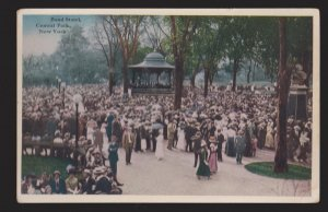 The Band Stand Central Park New York, NY - 1910s - Unused