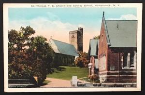 St. Thomas P.E. Church Sunday School Mamaroneck NY Photo & Art Postal Card Co