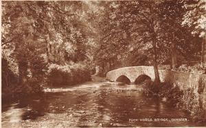 Dunster Pack Horse Bridge River Pont