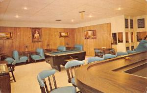 Boca Chica Texas Kennedy Shores Interior Vintage Postcard K85213