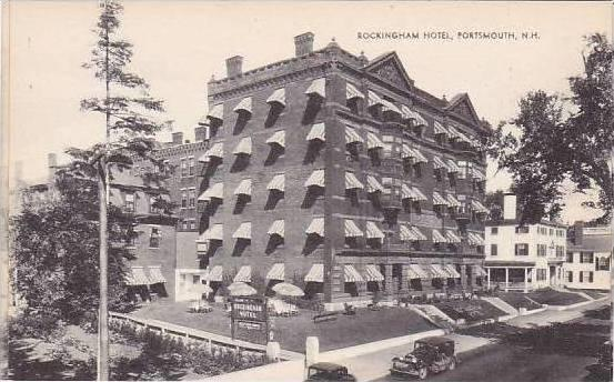 New Hampshire Portsmouth Rockingham Hotel Artvue