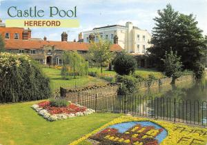 Castle Pool Hereford The Castle Green