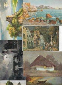 Fantasy Landscape Theme Postcard Lot of 20 01.13