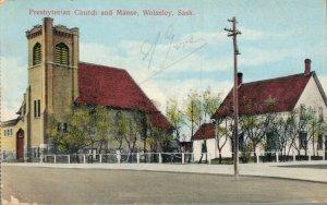 Canada Presbyterian Church and Manse Wolseley Sask 04.04