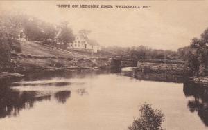 WALDOBORO, Maine, 1900-1910's; Scene On Medomak River